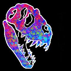 [LINEスタンプ] 恐竜の骨 2