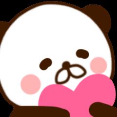 [LINEスタンプ] どあっぷパンダさん2 (1)