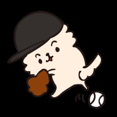 [LINEスタンプ] 野球だよ☆ソラ!の画像(メイン)