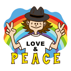 LOVE AND PEACE ALL FOR SMILE ver.1