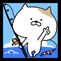 つり友!釣りネコぽん1!~釣り人使用~