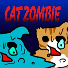 ねこゾンビ ラブスタンプ ネコ 猫 ゾンビ