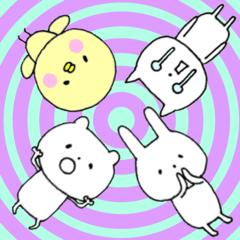 ゆるい動物たち★表情編