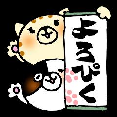 猫便り〜書道編〜