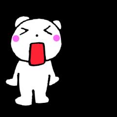 主婦が作ったデカ文字 関西弁クマ1