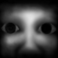 暗闇の顔 漆黒
