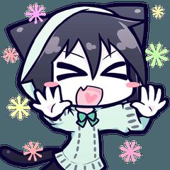 黒猫ナツキちゃん