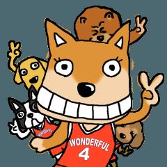 [LINEスタンプ] バスケの時間です