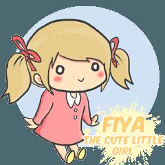 Fiya the Cute Little Girl