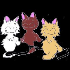 パンク猫2~ハッピ~に過ごします~