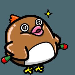 鳥男マラカスさん