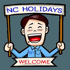 227 NC Holidays