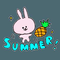 線うさぎの夏