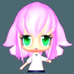 3D 美少女1