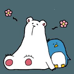 私のしろくまさんペンギンさん 2