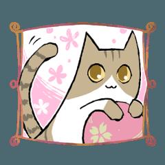 ゆるい系の猫たち
