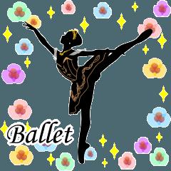美しのバレエ シルエット*ballet*2幕