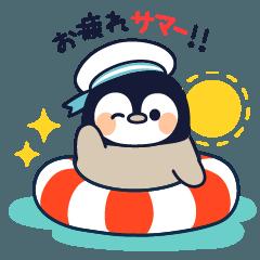 まったりペンギン 夏編