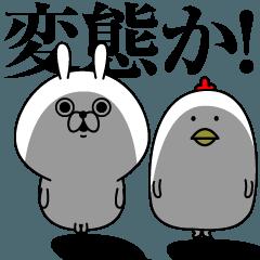 つっこみうさぎ(仮)2