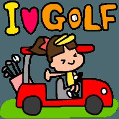ゴルフ女子のまいにち~第二弾~