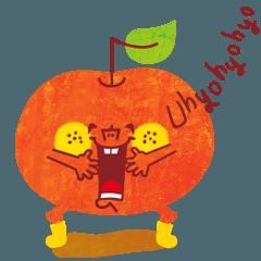 karinの動く★uhyohyoな『りんごくん.1』