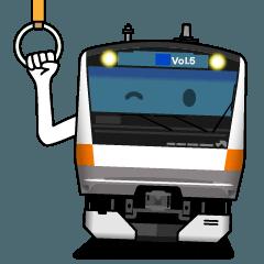電車deスタンプ 5