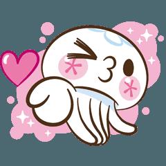クラゲのクララ アニメスタンプ