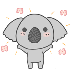 [LINEスタンプ] Koala KOA (1)