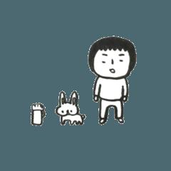 麦酒とウサギとよっちゃん