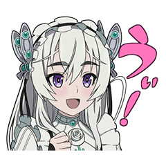 [LINEスタンプ] 棺姫のチャイカ