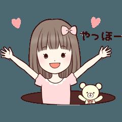 動く!Little girl☆