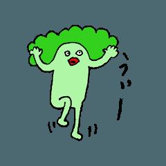 [LINEスタンプ] ブロッコリ男