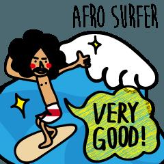 AFRO SURFER