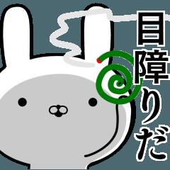 夏の容疑者ウサギ