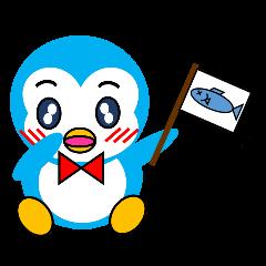 「ペンギンのぺぺ」表情豊かでかわいい仕草