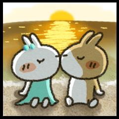 二人の熱い夏・ベストカップル