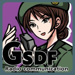 陸上自衛隊 無線通信