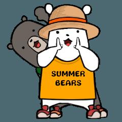 スノーベアーズの夏