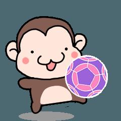 動く!個サル活動に便利なスタンプ