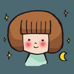 [LINEスタンプ] ゆるスピ系アラサー女子 すぴこ!の画像(メイン)