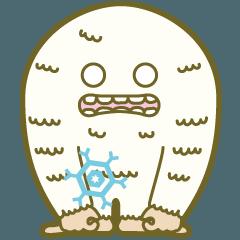 雪男のユキオがアニメになって再登場!