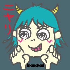 動くよぉ!マグちゃんとマオちんの日常編!