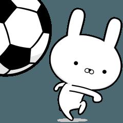 サッカー好きの為のスタンプ☆6