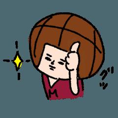 バスケットボールくんの日常2