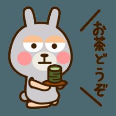 きぐるみうさぎ 日常会話編1
