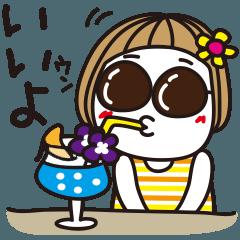 はな子✿夏と地震と台風編。