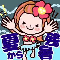 【動く】かずこちゃん 【夏!から残暑!】