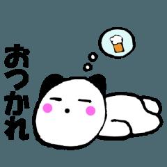 主婦が作ったデカ文字パンダ猫2