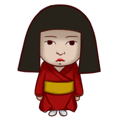 日本人形ちゃん