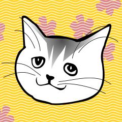 [LINEスタンプ] 猫じゃ! (1)